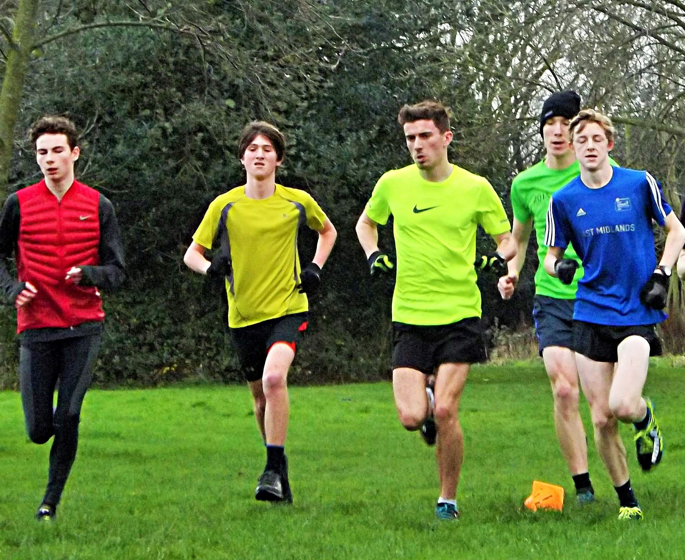 Training (January 2016): Archie, Pascal, Jamie, Phillip, & Alfie