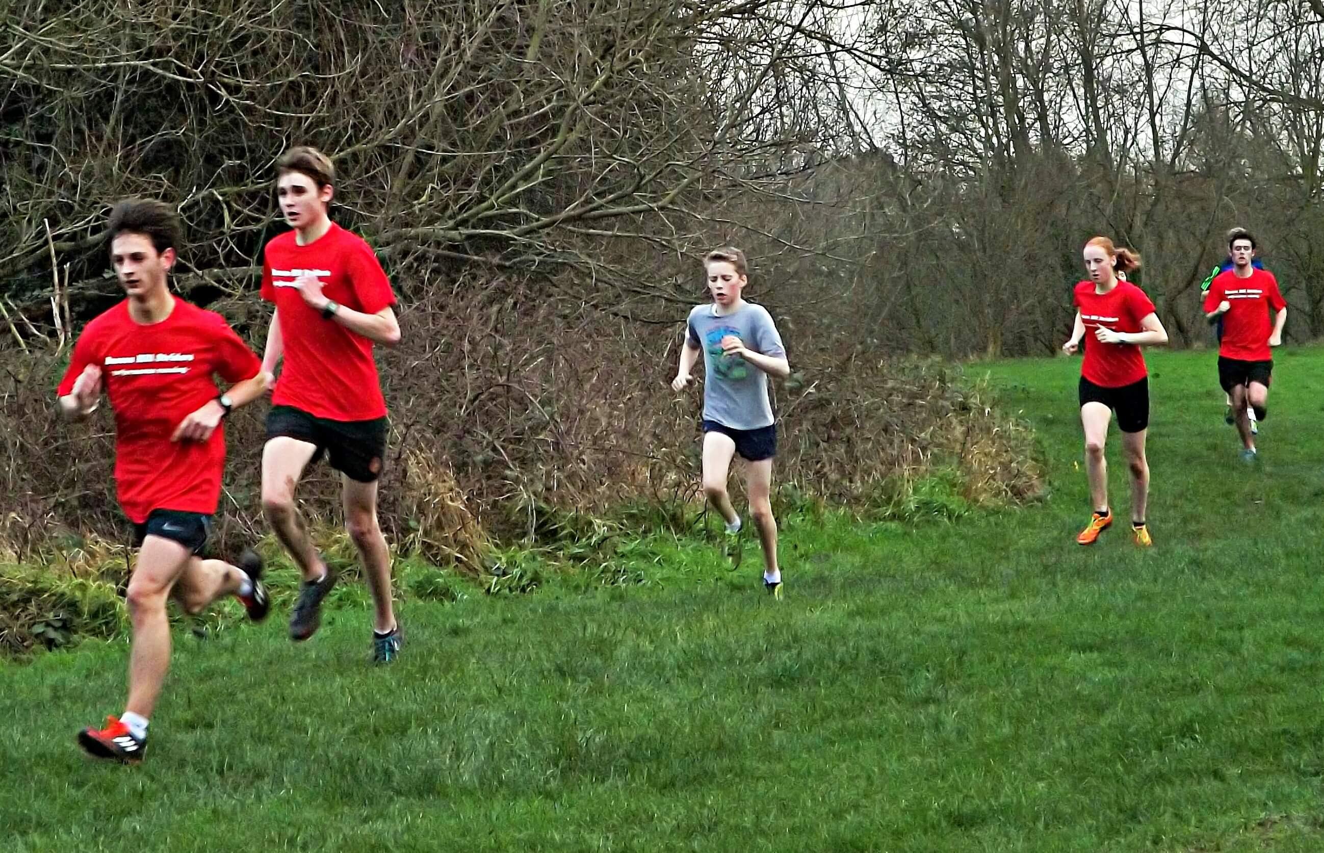 Training (January 2016): George, Hayden, Xavi, Alice, & Josh