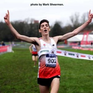Sam (Cardiff XC Challenge win on international debut)